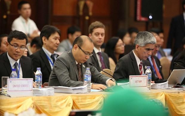 Khai mac Hoi nghi tong ket quan chuc cao cap APEC tai Da Nang hinh anh 1