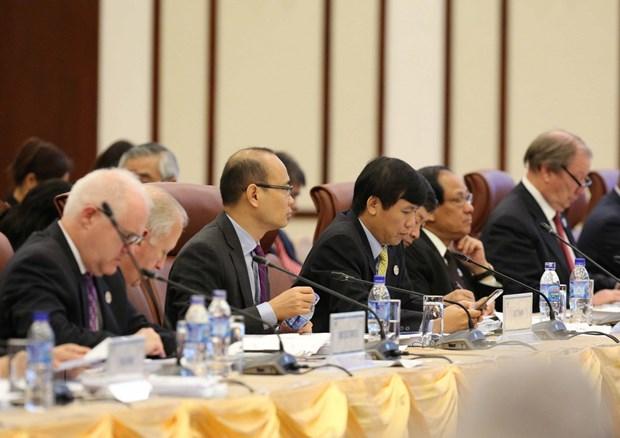 Khai mac Hoi nghi lan thu 29 lien Bo truong Ngoai giao-Kinh te APEC hinh anh 2