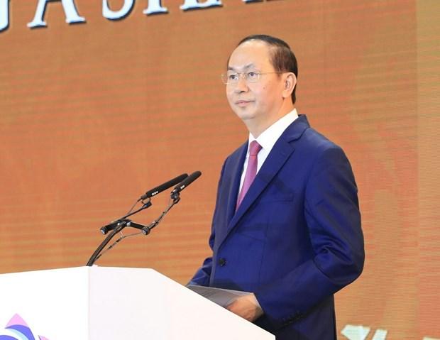 Bai phat bieu khai mac Hoi nghi thuong dinh doanh nghiep APEC hinh anh 1