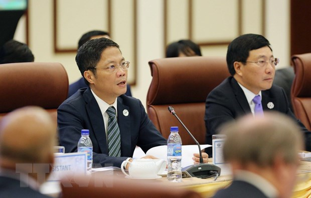 Khai mac Hoi nghi lan thu 29 lien Bo truong Ngoai giao-Kinh te APEC hinh anh 1