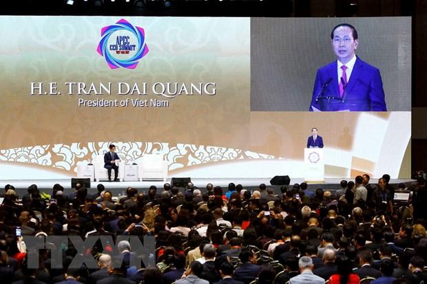 Trang mang cua Anh dua tin dam net ve APEC 2017 tai Viet Nam hinh anh 1