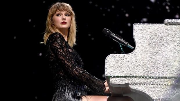 Album cua nu ca sy Taylor Swift dat hang nhat trong nam 2017 hinh anh 1