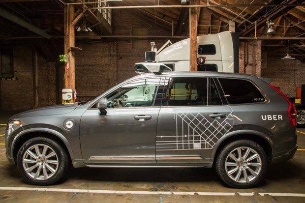 Hang Volvo se cung cap hang chuc nghin chiec xe tu lai cho Uber hinh anh 1