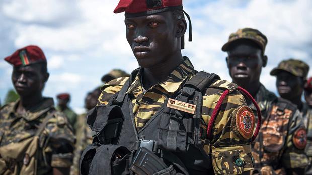 Quan doi Nam Sudan tieu diet 22 phien quan, thu giu nhieu vu khi hinh anh 1