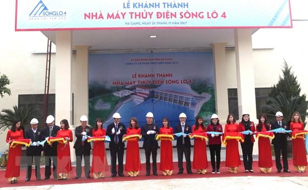 Ha Giang khanh thanh nha may thuy dien tren dong song Lo hinh anh 1