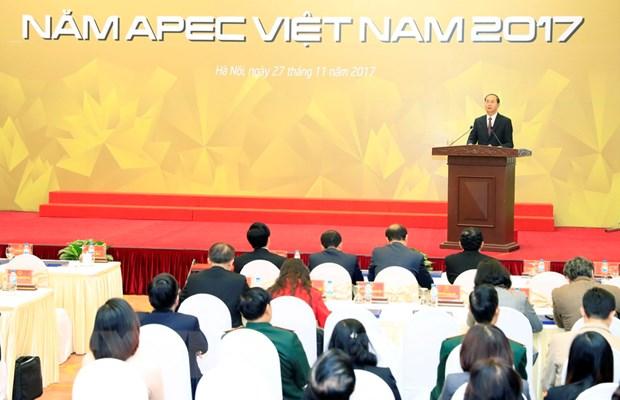 Thanh cong cua Nam APEC 2017 tao dong luc moi cho dat nuoc hinh anh 2