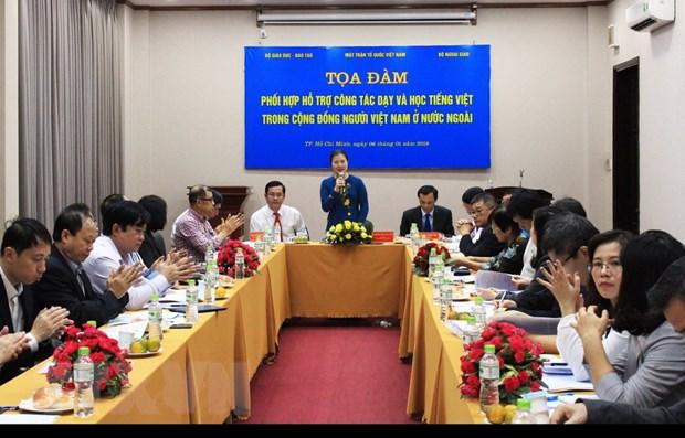 Ho tro day tieng Viet trong cong dong nguoi Viet Nam o nuoc ngoai hinh anh 2