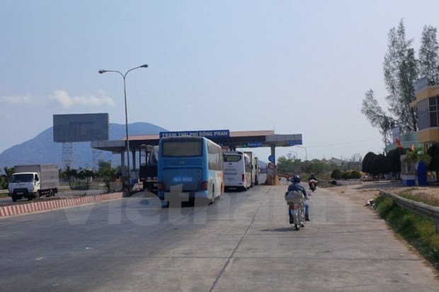 Binh Thuan: Xa tram thu phi Song Phan de giai toa un tac giao thong hinh anh 1