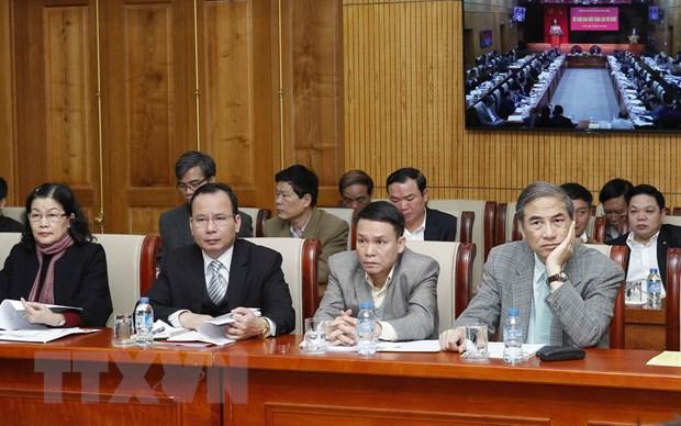 Hoi nghi Ban Chap hanh lan thu muoi Dang bo Khoi cac co quan TW hinh anh 1