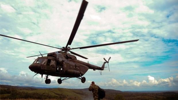 Colombia: Roi may bay quan su lam it nhat 7 nguoi thiet mang hinh anh 1