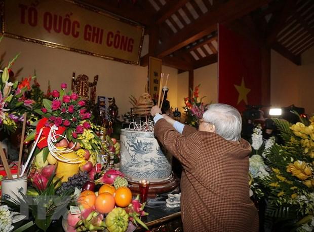 Tong Bi thu dang huong tuong niem dong chi Nguyen Duc Canh hinh anh 1