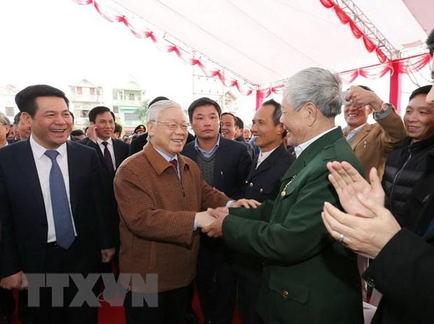 Tong Bi thu dang huong tuong niem dong chi Nguyen Duc Canh hinh anh 2