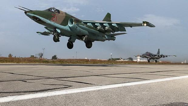 SOHR: May bay Su-25 cua Nga bi ban roi o Syria, phi cong thiet mang hinh anh 1