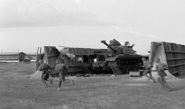 Mat tran Duong 9-Khe Sanh trong cuoc tong tien cong Xuan 1968 hinh anh 1