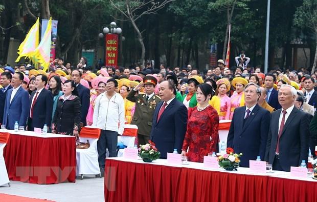 Thu tuong dang huong ky niem 229 nam Chien thang Ngoc Hoi-Dong Da hinh anh 1