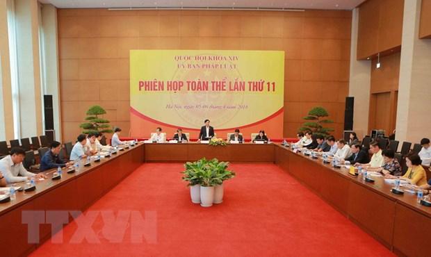De nghi dieu chinh Chuong trinh xay dung luat, phap lenh nam 2018 hinh anh 1