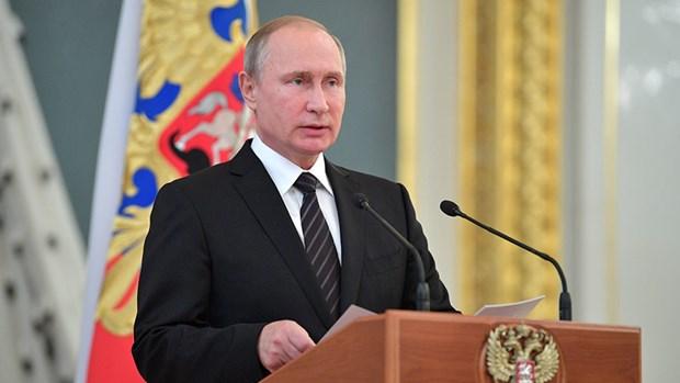 Tong thong Nga Putin: Tinh hinh the gioi ngay cang tro nen hon loan hinh anh 1