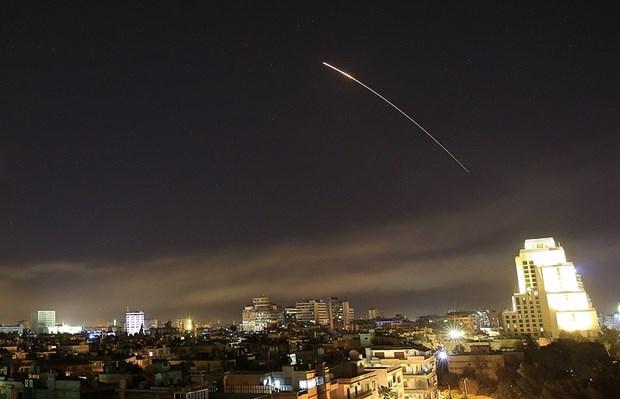 Syria: Israel co the da phong ten lua nham vao can cu Shayrat hinh anh 1
