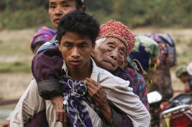 Myanmar: Xung dot tai Kachin, hang nghin nguoi phai roi bo nha cua hinh anh 1