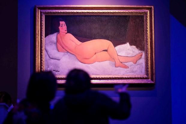 Buc tranh cua danh hoa Modigliani duoc ban hon 157 trieu USD hinh anh 1
