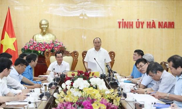 Thu tuong de nghi Ha Nam khong phat trien them cac nha may ximang hinh anh 1