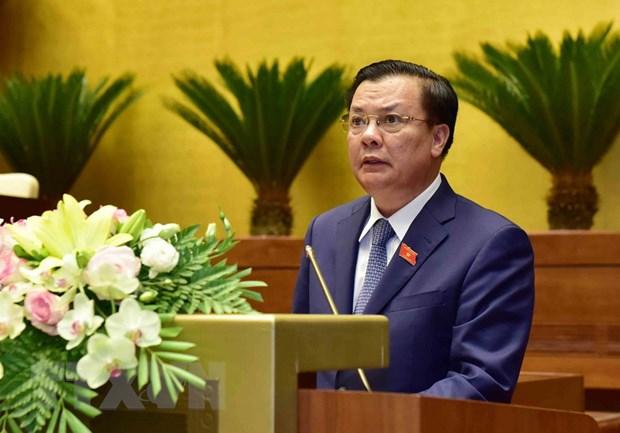 Trinh Quoc hoi phe chuan quyet toan thu, chi ngan sach nam 2016 hinh anh 1