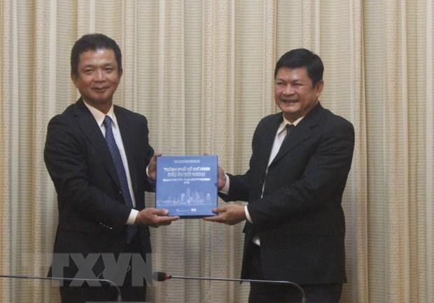 Thanh pho Ho Chi Minh de nghi Nhat giup phat trien cong nghiep ho tro hinh anh 1