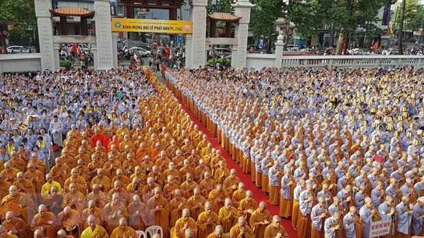 Dai le Phat dan Phat lich 2562 tai Thanh pho Ho Chi Minh hinh anh 1