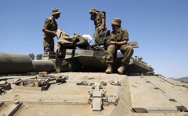 Israel tap tran quy mo lon giua luc cang thang voi Gaza, Iran hinh anh 1