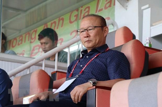 Ong Park Hang-seo du khan tran HAGL thua nguoc Quang Nam hinh anh 1