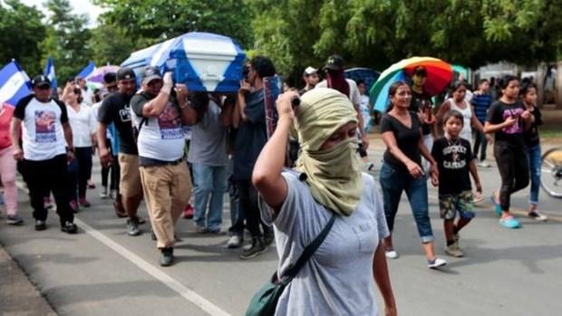 Bao luc tiep dien pha vo thoa thuan ngung ban tai Nicaragua hinh anh 1