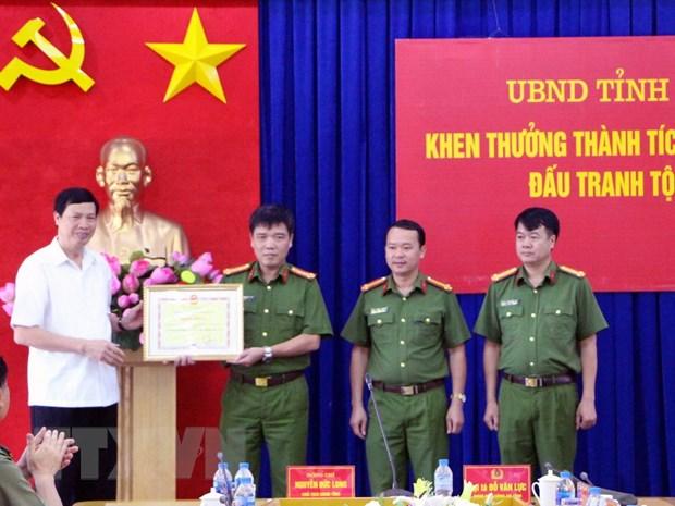 Quang Ninh: Pha duong day van chuyen gan 24kg ma tuy qua bien gioi hinh anh 1