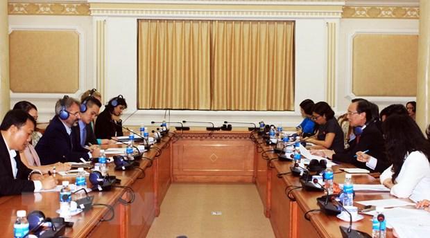 TP Ho Chi Minh trien khai du an danh gia tin nhiem tin dung quoc te hinh anh 1