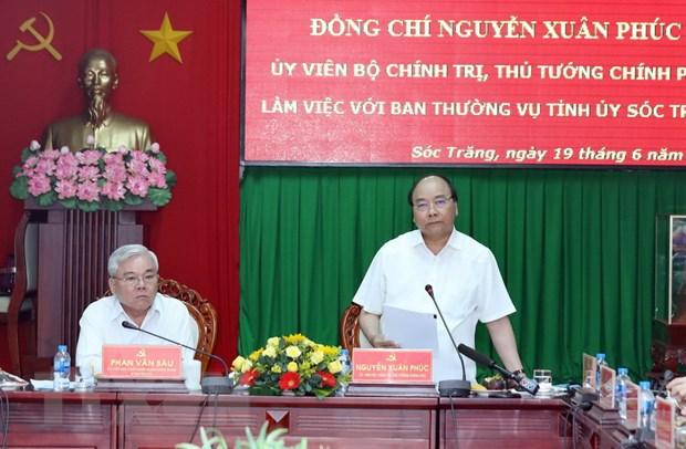 Thu tuong: Soc Trang han che co che xin cho, chong tu tuong y lai hinh anh 1