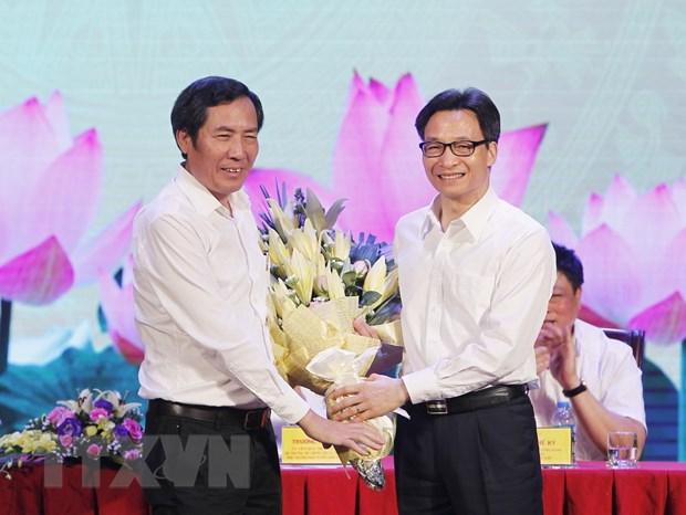 Pho Thu tuong Vu Duc Dam chuc mung doi ngu nguoi lam bao ca nuoc hinh anh 1