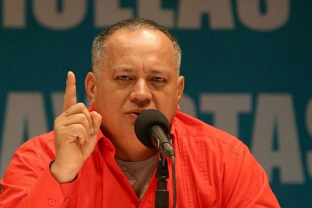 Ong Diosdado Cabello nham chuc Chu tich Quoc hoi Lap hien Venezuela hinh anh 1