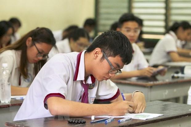 Kiem tra cong tac to chuc thi THPT Quoc gia tai Thanh pho Ho Chi Minh hinh anh 1