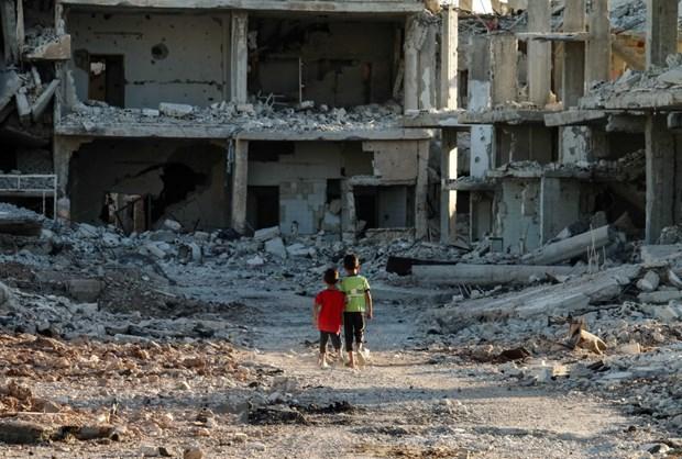 Quan doi Syria giai phong nhieu khu vuc chu chot o tinh Daraa hinh anh 1