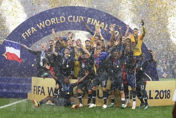 Truyen thong the gioi ngoi khen doi tuyen Phap tai World Cup 2018 hinh anh 1