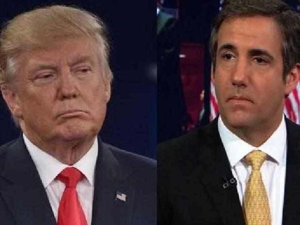 Ong Trump bi ghi am cuoc noi chuyen lien quan den be boi tinh ai hinh anh 1