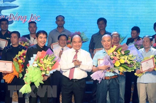 Thu tuong Nguyen Xuan Phuc du Chuong trinh