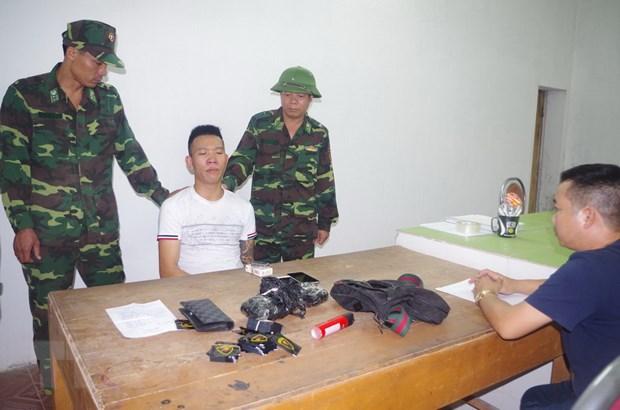 Quang Ninh: Khoi to vu an van chuyen 283 tui nilon chua ma tuy hinh anh 1