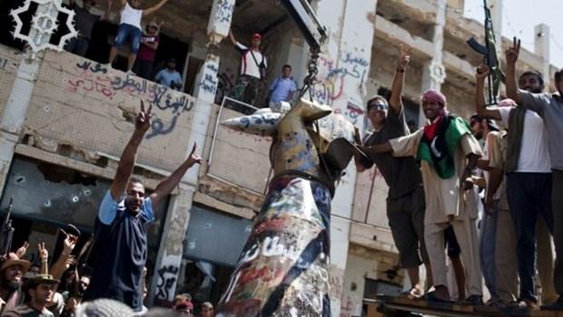 Libya: 45 nguoi bi ket an tu hinh vi giet nguoi bieu tinh nam 2011 hinh anh 1