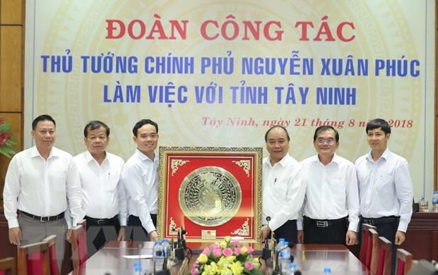 Thu tuong: Tay Ninh can tro thanh hinh mau lam giau tu nong nghiep hinh anh 2