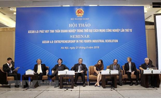 ASEAN phat huy tinh than doanh nghiep thoi dai cach mang 4.0 hinh anh 1
