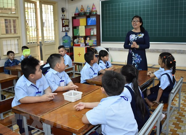 Thanh pho Ho Chi Minh: Gian thoi gian thu cac khoan tien dau nam hoc hinh anh 1