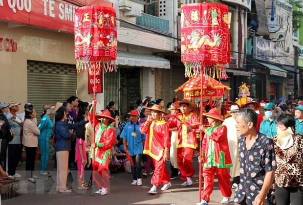 Dac sac Le hoi Nghinh Ong Quan Thanh De Quan o Binh Thuan hinh anh 1