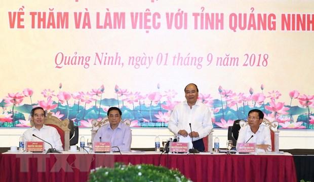 Thu tuong: Quang Ninh la dia phuong phat trien nang dong nhat hinh anh 1