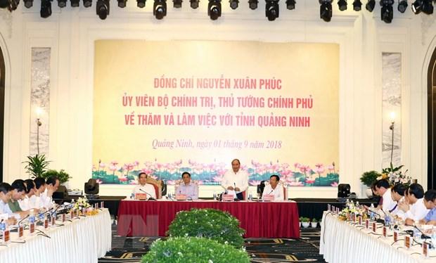 Thu tuong: Quang Ninh la dia phuong phat trien nang dong nhat hinh anh 2