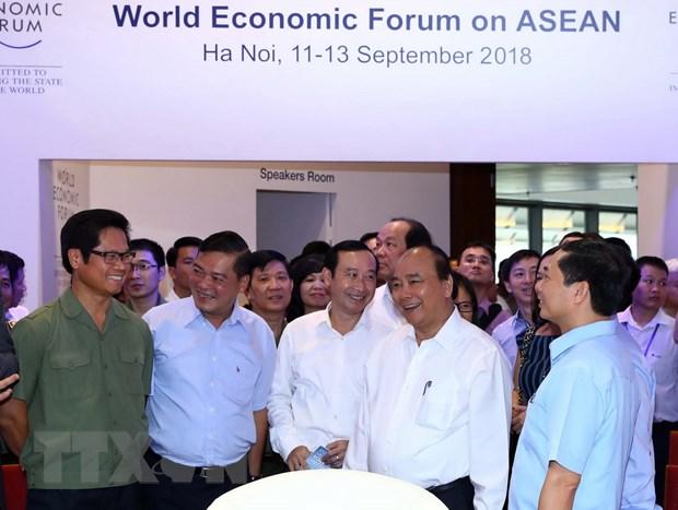 Thu tuong: WEF ASEAN la co hoi khang dinh uoc mo vuon len tam cao moi hinh anh 2